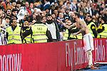 Real Madrid's defender Sergio Ramos during the match of La Liga between Real Madrid and   Real Sociedad at Santiago Bernabeu Stadium in Madrid, Spain. January 29th 2017. (ALTERPHOTOS/Rodrigo Jimenez)