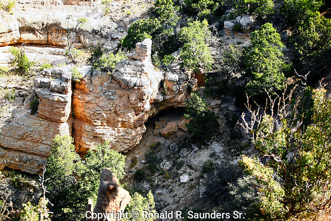 Grand Canyon rock formation<br /> (10)