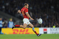 Frédéric Michalak of France during Match 5 of the Rugby World Cup 2015 between France and Italy - 19/09/2015 - Twickenham Stadium, London <br /> Mandatory Credit: Rob Munro/Stewart Communications