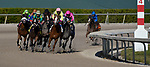 January 23, 2021: Pacific Gate, #6, ridden by jockey John R. Velazquez wins the Inside Information Stakes during Pegasus World Cup Invitational Day at Gulfstream Park in Hallandale Beach, Florida. John Voorhees/Eclipse Sportswire/CSM