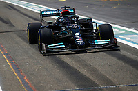 44 HAMILTON Lewis (gbr), Mercedes AMG F1 GP W12 E Performance, action during the Formula 1 Azerbaijan Grand Prix 2021 from June 04 to 06, 2021 on the Baku City Circuit, in Baku, Azerbaijan <br /> FORMULA 1 : Grand Prix Azerbaijan <br /> 05/06/2021 <br /> Photo DPPI/Panoramic/Insidefoto <br /> ITALY ONLY