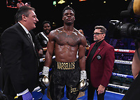 LAS VEGAS - NOVEMBER 23: Marsellos Wilder on the Fox Sports PBC Fight Night at the MGM Grand Garden Arena on November 23, 2019 in Las Vegas, Nevada. (Photo by Frank Micelotta/Fox Sports/PictureGroup)