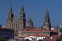 Spanien, Galicien, Santiago de Compostella, Kathedrale, Unesco-Weltkulturerbe Welterbe
