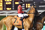 February 13, 2021: Besos in the Risen Star Stakes at Fair Grounds Race Course in New Orleans, Louisiana. Parker Waters/Eclipse Sportswire/CSM