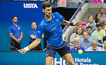 August 28,2019:  Novak Djokovic (SRB) defeated Juan Ignacio Londero (ARG) 6-4, 7-6, 6-1, at the US Open being played at Billie Jean King National Tennis Center in Flushing, Queens, NY.  ©Jo Becktold/CSM