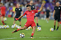 Orlando, FL - Friday Oct. 06, 2017: Benny Feilhaber during a 2018 FIFA World Cup Qualifier between the men's national teams of the United States (USA) and Panama (PAN) at Orlando City Stadium.