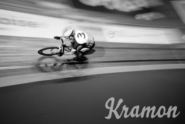 Melvin van Zijl (NLD) speeding through<br /> <br /> 2015 Gent 6