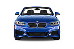 Car photography straight front view of a 2015 BMW 2 Series 228i 2 Door Convertible Front View