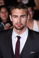 """WESTWOOD, LOS ANGELES, CA, USA - MARCH 18: Theo James at the World Premiere Of Summit Entertainment's """"Divergent"""" held at the Regency Bruin Theatre on March 18, 2014 in Westwood, Los Angeles, California, United States. (Photo by David Acosta/Celebrity Monitor)"""