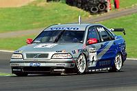 1998 British Touring Car Championship at Brands Hatch. #4 Rickard Rydell (SWE). Volvo S40 Racing. Volvo S40.