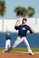 Chad Hockin participates in the Jesse Flores All Star Game at the Urban Youth Academy on November 4, 2012 in Compton, California. (Larry Goren/Four Seam Images)