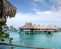 Bora Bora Nui Resort & Spa,.a member of Starwood's Luxury Collection.Bora Bora, French Polynesia.October 12, 2007.©2007 Kathy Hutchins / Hutchins Photo..EXCLUSIVE..please credit photographer and resort in all usage....