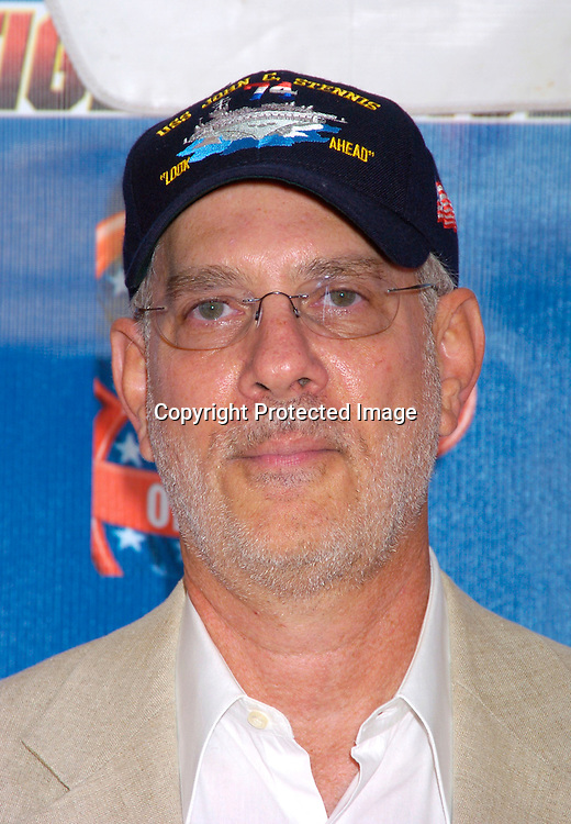 """Barry Rosenbush..at the New York Premiere of """" Tiger Cruise"""" on August 3, 2004 onboard The Intrepid. The movie is a Disney Channel movie . ..Photo by Robin Platzer, Twin Images"""