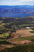aerial photograph Kelseyville, Clearlake,  Lake County, California