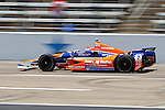 Charlie Kimball (83) in action during qualifying for the IZOD Indycar Firestone 550 race at Texas Motor Speedway in Fort Worth,Texas.