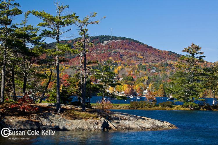 Autumn color on Blue Hill, Midcoast ME