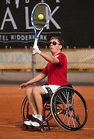 10-08-13, Netherlands, Rotterdam,  TV Victoria, Tennis, NJK 2013, National Junior Tennis Championships 2013,  Sam Schroder<br /> <br /> Photo: Henk Koster