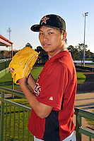 Feb 25, 2010; Kissimmee, FL, USA; The Houston Astros pitcher Chia-Jen Lo (67) during photoday at Osceola County Stadium. Mandatory Credit: Tomasso De Rosa/ Four Seam Images