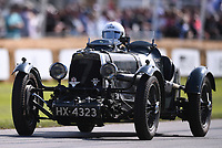 9th July 2021;  Goodwood  House, Chichester, England; Goodwood Festival of Speed; Day Two; Robert Blakemore drives an Aston Martin Ulster in the Goodwood Hill Climb