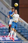 22.08.2020 Rangers v Kilmarnock: James Tavernier and Brandon Haunstrup