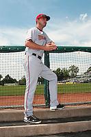 Harrisburg Senators pitcher Matt Swynenberg (37) during game against the Trenton Thunder at  ARM & HAMMER Park on July 31, 2013 in Trenton, NJ.  Harrisburg defeated Trenton 5-3.  (Tomasso DeRosa/Four Seam Images)