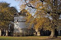 Europe/France/Bourgogne/21/Côte d'Or/Epoisses: Le Château - Détail du pigeonnier