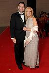 "Debbie Noonan and Steve Heldmann at the 2016 Houston Symphony Gala ""Carnaval"" at Jones Hall Saturday May 14,2016(Dave Rossman Photo)"