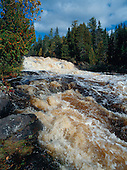 Lower Montreal Falls, Keweenaw county, in Michigan's Upper Peninsula.