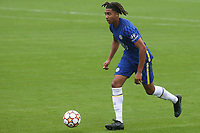 Bashir Humphreys of Chelsea U19's in action during Chelsea Under-19 vs FC Zenit Under-19, UEFA Youth League Football at Cobham Training Ground on 14th September 2021