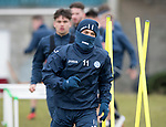 St Johnstone Training…30.03.18<br />George Williams pictured during training this morning at McDiarmid Park ahed of tomorrows game at Aberdeen<br />Picture by Graeme Hart.<br />Copyright Perthshire Picture Agency<br />Tel: 01738 623350  Mobile: 07990 594431
