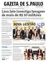 11.11.2016: Jornal Gazeta de S.Paulo - O prefeito eleito João Doria (PSDB) anunciou nesta quinta-feira, o segundo grupo de secretários de sua gestão. (Foto: Fábio Vieira/FotoRua)