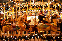 Carousel, Peddlers Village, Lahaska, Pennsylvania, PA, USA