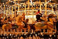 Carousel, Peddlers Village, Lahaska, Pennsylvania, PA, USA