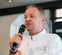 10-01-13,Tennis,  Schipluiden, Restaurant Zwetheul, Persconferentie 40e ABNAMROWTT, Mario Ridder van Zwetheul met welcomswoord