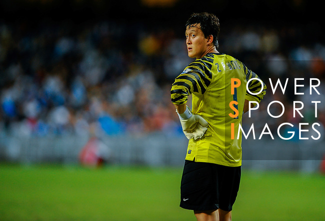 Mark Bunn of Kitchee FC in action against Blackburn Rovers during the Asia Trophy pre-season friendly match at the Hong Kong Stadium on July 30, 2011 in So Kon Po, Hong Kong. Photo by Victor Fraile / The Power of Sport Images