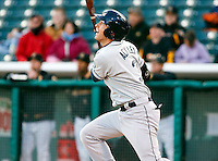 Tacoma Rainiers infielder Dustin Ackley #3 during a game vs. Salt Lake Bees on April 26, 2011 at Spring Mobile Ballpark in Salt Lake City, Utah . Salt Lake Bees were defeated by Tacoma 8-4.  Photo By Matthew Sauk/Four Seam Images