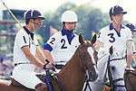 Prince Charles playing Polo at the Guards Polo Club  Windsor Great Park Berkshire England circa 1985 1980s UK