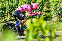 17th July 2021, St Emilian, Bordeaux, France;  GUERREIRO Ruben (POR) of EF EDUCATION - NIPPO during stage 20 of the 108th edition of the 2021 Tour de France cycling race, an individual time trial stage of 30,8 kms between Libourne and Saint-Emilion.