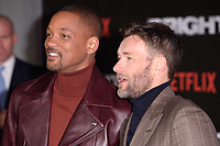 """Will Smith and Joel Edgerton<br /> arriving for the """"Bright"""" European premiere at the BFI South Bank, London<br /> <br /> <br /> ©Ash Knotek  D3364  15/12/2017"""