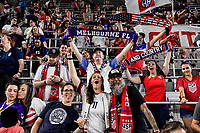 ORLANDO, FL - MARCH 05: USA fans during a game between England and USWNT at Exploria Stadium on March 05, 2020 in Orlando, Florida.