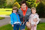 Enjoying a stroll in the Muckross Gardens in Killarney on Sunday, l to r: Noah, Ciaran and Bella Brosnan from Killarney.
