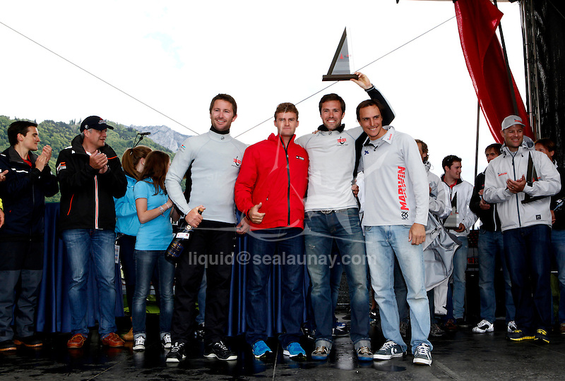 The GC32 is the one design for the future Great Cup Racing circuit, Austria Cup, Lake Traunsee, Gmunden, Austria. Day5.