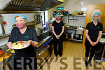 Getting the meals ready at Ballyduff Buds Meals on Wheels on Tuesday.<br /> Front left: Margaret Ross.<br /> Cack l to r: Margaret Dowling and Katie McCabe.