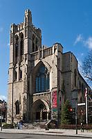 Amérique/Amérique du Nord/Canada/Québec/Montréal: rue Sherbrooke ouest - Eglise Saint-Andrew et Saint-Paul, rue Sherbrooke