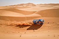5th January 2021; Dakar Rally stage 3; 507 Sotnikov Dmitry (rus), Akhmadeev Ruslan (rus), Akhmatzianov Ilgiz (rus), Kamaz, Kamaz - Master, Camion, Truck, action during the 3rd stage of the Dakar 2021 between Wadi Al Dawasir and Wadi Al Dawasir, in Saudi Arabia on January 5, 2021