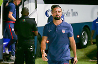 GEORGETOWN, GRAND CAYMAN, CAYMAN ISLANDS - NOVEMBER 19: Sebastian Lletget #17 of the United States walks to the USMNT locker room during a game between Cuba and USMNT at Truman Bodden Sports Complex on November 19, 2019 in Georgetown, Grand Cayman.