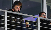 Hull City's co-owner Ehab Allam watches on from the director's box<br /> <br /> Photographer Alex Dodd/CameraSport<br /> <br /> EFL Papa John's Trophy - Northern Section - Group H - Hull City v Grimsby Town - Tuesday 17th November 2020 - KCOM Stadium - Kingston upon Hull<br />  <br /> World Copyright © 2020 CameraSport. All rights reserved. 43 Linden Ave. Countesthorpe. Leicester. England. LE8 5PG - Tel: +44 (0) 116 277 4147 - admin@camerasport.com - www.camerasport.com