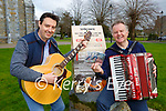 Musicians Thady O'Connor right and Fergus O'Sullivan who have released a new single in aid of Trocaire