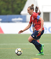 20180519 - LILLE , FRANCE : LOSC's Maud Coutereels pictured during the 21 st competition game between the women teams of Lille OSC and Montpellier Herault Sporting Club in the 2017-2018 season of the first Division - Ligue 1 at stade Lille Metropole , Sunday 19th May 2018 ,  PHOTO Dirk Vuylsteke | Sportpix.Be