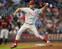 Moyer, Jamie 6082.jpg Philadelphia Phillies at Houston Astros. Major League Baseball. September 7th, 2009 at Minute Maid Park in Houston, Texas. Photo by Andrew Woolley.